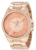 Juicy Couture Ladies Rose Gold and Swarovski Crystal Watch