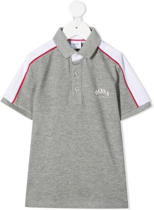 Boss Kidswear Logo Print Polo Shirt