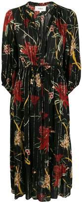 BA&SH Patty flared day dress