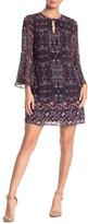 Vince Camuto Printed Geo Printed Mini Dress