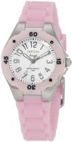 Invicta Women's 1612 Angel Dial Pink Silicone Watch