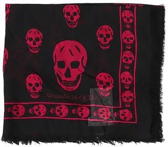 Alexander McQueen Classic Skull Print Scarf