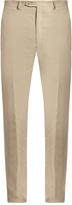 Brioni Slim-fit linen trousers
