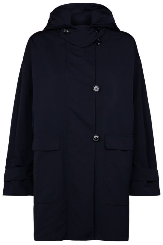 Max Mara Hooded Raincoat