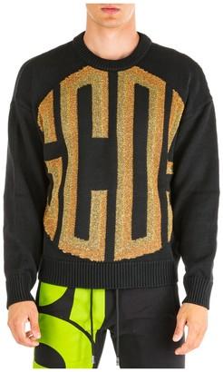 GCDS Ribbed Logo Sweater