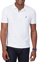 Nautica Short-Sleeve Solid Anchor Deck Polo