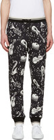 Dolce & Gabbana Black Instrument Lounge Pants