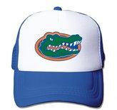LIANBANG Mesh Caps LIANBANG Florida Gators Logo Adjustable Printing Snapback Mesh Hat Unisex Adult Baseball Mesh Cap Blue