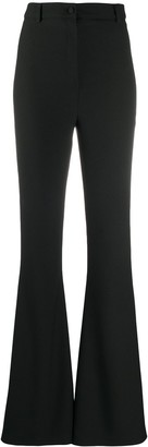 Hebe Studio High-Waisted Flare Trousers