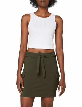 Only Women's ONLPOPTRASH Cargo Belt Skirt PNT