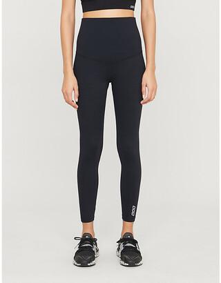 Lorna Jane Core high-rise stretch-jersey maternity leggings