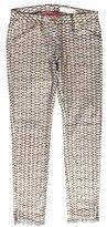 Sass & Bide Shell Print Skinny Jeans