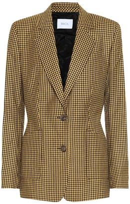 Racil John checked wool blazer