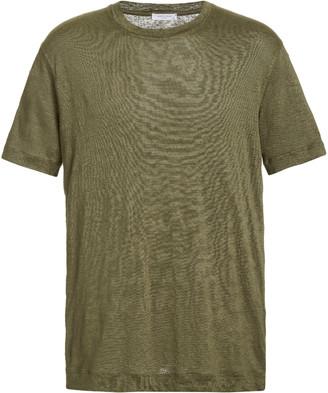 Boglioli Linen Crewneck T-Shirt