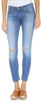 Rag & Bone Mid Rise Slim Capri Jeans