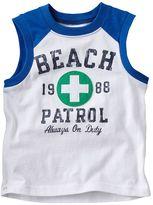 Carter's beach patrol tank - baby