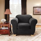 Sure Fit Pin-Striped Chair Slipcover