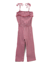 Sweet & Soft Pink Ruffle-Accent Jumpsuit - Toddler & Girls