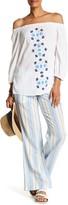 Tommy Bahama Chappel Stripe Linen Blend Drawstring Pant