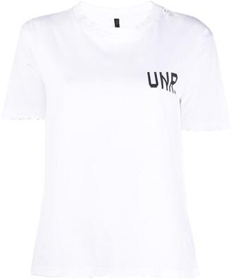 Unravel Project UNR print T-shirt