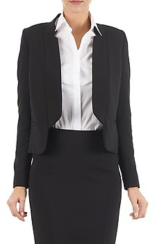 LOLA Cosmetics DOUBLE VAEL women's Jacket in Black