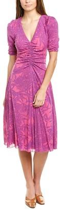 Diane von Furstenberg Koren Midi Dress