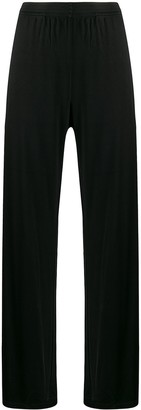 MM6 MAISON MARGIELA elasticated waistband palazzo trousers
