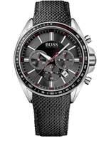 HUGO BOSS Men's Driver 1513087 Leather Quartz Watch