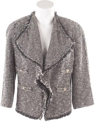 Edward Achour White Cotton Jacket for Women