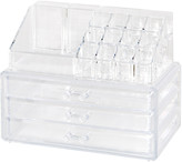 Clearly Chic Clear 19 Compartment Cosmetic Organizer