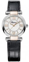 Chopard Women's Imperiale 28mm Black Leather Band Quartz Watch 388541-6001