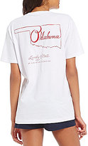 Lauren James Oklahoma Line Art Graphic Tee