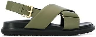 Marni Fussbett flat sandals