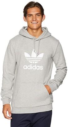 adidas Trefoil Hoodie (Medium Grey Heather) Men's Sweatshirt