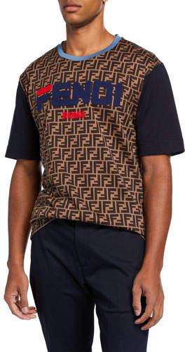 3173cff32 Fendi Blue Men's Shirts - ShopStyle