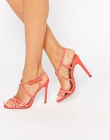 Asos HOUSTON Embellished Heeled Sandals