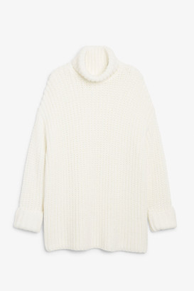 Monki Chunky knit top