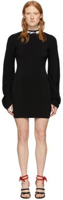 Off-White Black Industrial Mini Dress