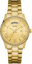 GUESS Women's Gold-Tone Stainless Steel Bracelet Watch 37mm U0764L2