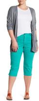 NYDJ Ariel Stretch Twill Crop Pant (Plus Size)