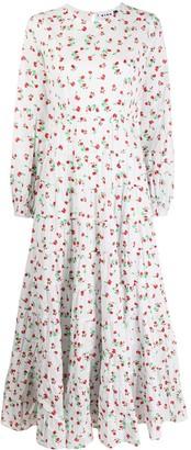 Rixo long sleeve Ditsy Floral print dress