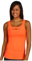 Reebok ZigFuel Motion Long Bra Top (Vitamin C/Vitamin C) - Apparel