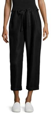 Sara Lanzi Cropped Drawstring Pants