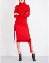 Givenchy Turtleneck waffle-knit wool-blend jumper