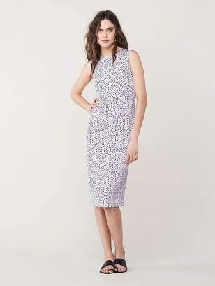 Diane von Furstenberg Alina Slim Midi Dress