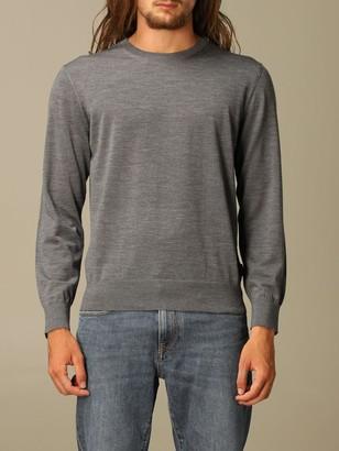 Ermenegildo Zegna Long-sleeved Merino Wool Sweater