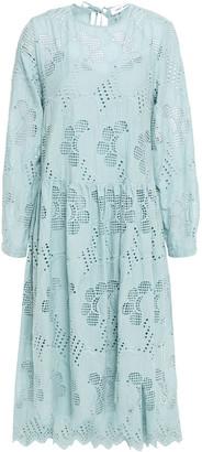 Samsoe & Samsoe Samse Samse Junia Gathered Broderie Anglaise Cotton Dress