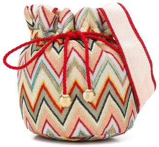 Missoni Kids Zigzag Pattern Shoulder Bag