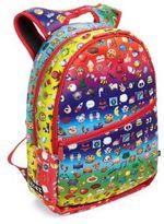 Terez Kid's Rainbow Emoji-Print Backpack