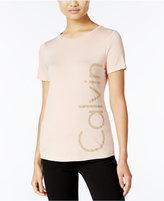Calvin Klein Studded Logo T-Shirt